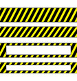 repeatable yellow tapes bands strips editable vector image