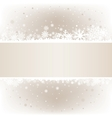soft light snow mesh background with textarea vector image
