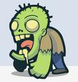 Zombie Alert vector image vector image