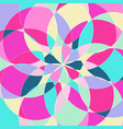 abstract pattern with multi-colored parts vector image