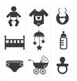 Baby Stuff Icon vector image