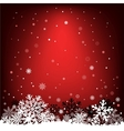 dark red snow mesh background vector image vector image