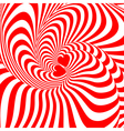 Design hearts swirl movement background vector image vector image