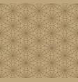 geometric shape seamless line web pattern nature vector image