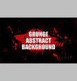 in grunge dirty style vector image vector image