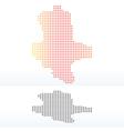 Saxony-Anhalt Germany vector image vector image