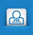 staff card identity vector image
