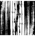 Traced black and white wood grain abstract vector image vector image