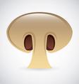 mushroom design vector image