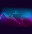 amplitude abstract background with a colored waves vector image