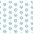 Blue sheep Pattern vector image