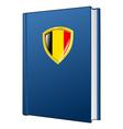 constitution of Belgium vector image vector image