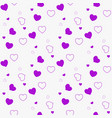 dark purple pink seamless layout with sweet vector image