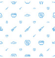 fish icons pattern seamless white background vector image vector image