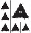 Grunge Shapes Set vector image vector image