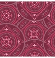 Ornamental round seamless pattern vector image vector image