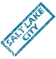 Salt Lake City rubber stamp vector image vector image