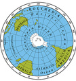 Southern Hemisphere vector image vector image