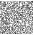 vintage tropic pattern design vector image vector image