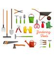 icons of farm gardening tools