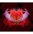 Angelic Love Heart Design vector image vector image