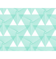 aqua mentheneo mintemerald turquoise geometric vector image vector image
