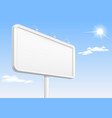 banner template with backlight vector image