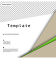 Business presentation template from infographic