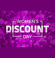 happy womens day discount vector image vector image