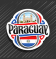logo for paraguay vector image vector image