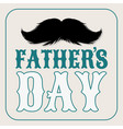 moustaches clipart fathers day holiday with vector image vector image