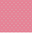 Pink Graphic Style Pattern vector image