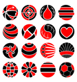 Round abstract icons