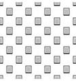 spiral notepad pattern vector image vector image