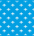airliner pattern seamless blue vector image vector image