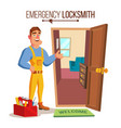 locksmith door service professional master vector image