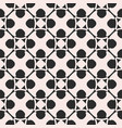 monochrome ornamental pattern in arabian style vector image vector image