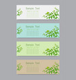 natural design template background vector image