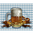 Octoberfest design vector image