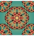 Seanless hand drawn vintage mandala background vector image vector image