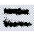 Transparent Blots Set vector image