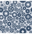 Background metallic with gears vector image vector image