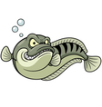 Great snakehead vector image vector image