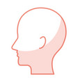profile human isolated icon vector image
