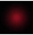 Red dots background vector image vector image