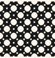 simple geometric monochrome seamless pattern with vector image vector image