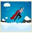 superman vector image