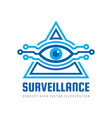 surveillance security technology vision - logo vector image