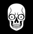 tattoo skull pattern vector image vector image