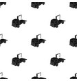 tow truck icon in black style isolated on white vector image vector image